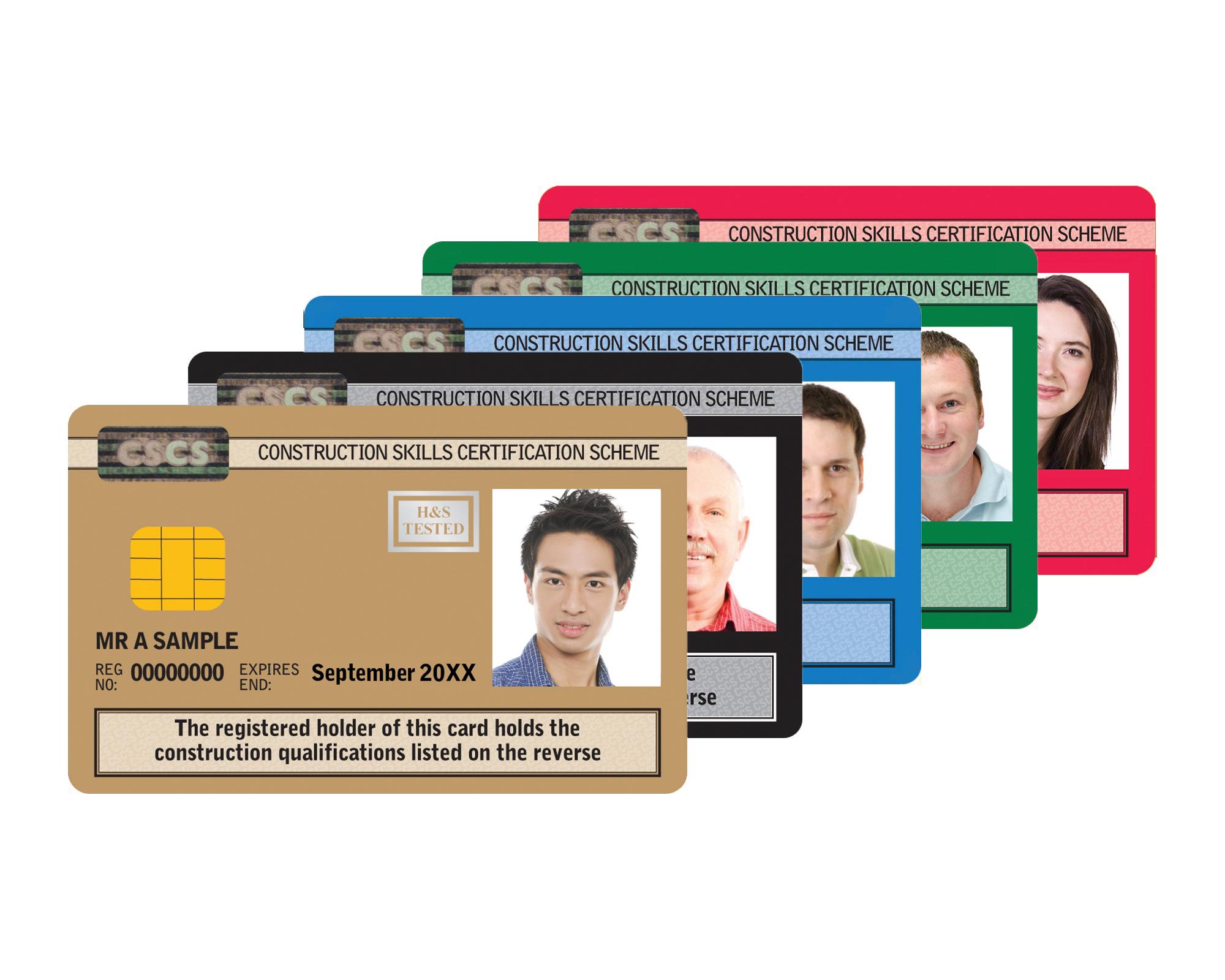 Cscs Gold Card >> CSCS Carduri in Londra, NVQ Level 1-6 in Londra, Tichete ...
